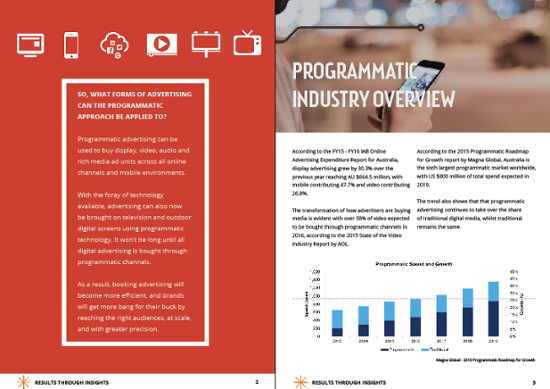 Programmatic Advertising Guide Download CTA
